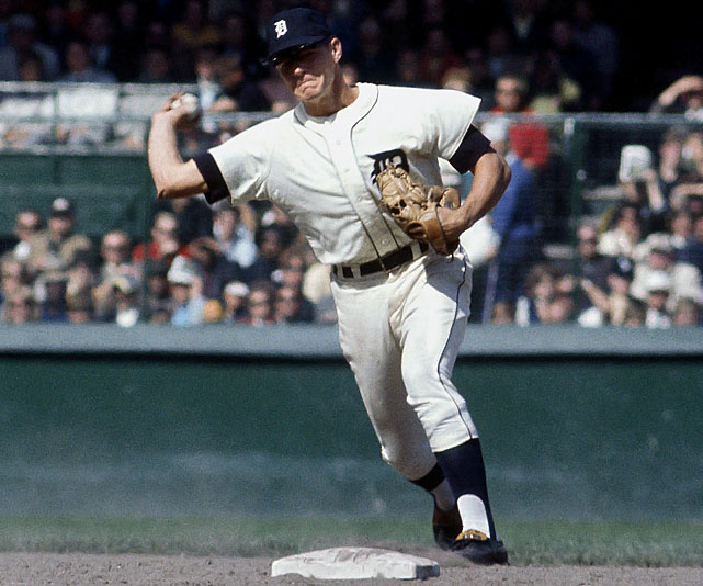 A week before the 1968 World Series, Tigers manager Mayo Smith made a bold decision: he would move his center fielder, Mickey Stanley, to shortstop. Stanley, who had been a pitcher in high school, was the best defensive center fielder in the major leagues. With their berth to the World Series sewn up (the League Championship Series began in 1969), Smith tried Stanley at shortstop at the end of the regular season.  In his first game, he made two errors, and threw to first on what should have been a double-play ball. The move paid off in the World Series though: Stanley played seven games of errorless ball and the Tigers won 4-3.