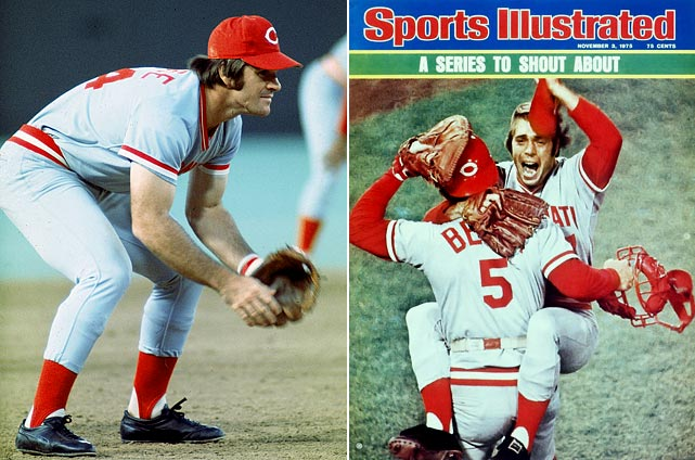 In 1975 the Big Red Machine got off to a slow start and the onus fell on manager Sparky Anderson to right the ship.  His first course of action was to shift superstar Pete Rose from outfield to third base, a position he hadn't played in almost 10 years. Rose's move paved the way for George Foster to start in left, and Foster's 23 home runs offset Rose's sub-par defense at third.  The shift shook the rust off the Machine, but Anderson's genius was still to come. With his starters fading and the Reds once again slipping in the standings, Anderson started using his bullpen more extensively and strategically, letting matchups dictate the pitcher.  In the process, the modern bullpen was born.