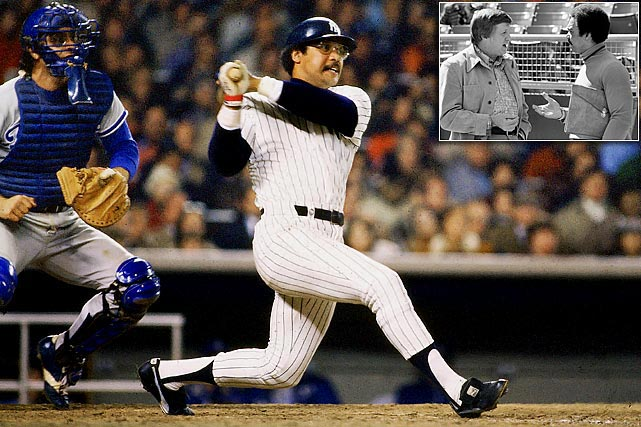 "Never before has a free-agent contract paid off so quickly.  The Yankees signed Reggie Jackson to a five-year, $2.9 million contract before the 1977 season.  That October, Jackson earned the nickname ""Mr. October"" with three home runs in the clinching Game 6 of the World Series to help New York win its first World Series in 15 years."