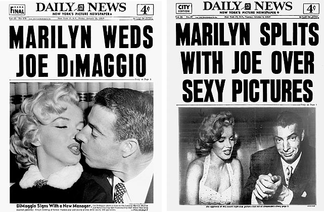 The tabloids chronicled the couple's ups and downs.