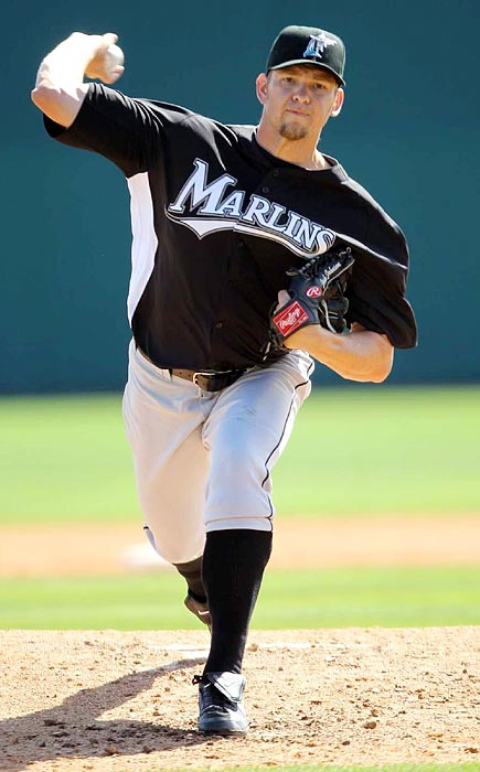 Marlins ace Josh Johnson debuted in 2006 with an impressive 12-7 record and 3.10 ERA. But after starting 2007 0-3 with a 7.47 ERA he was sidelined by Tommy John surgery in August.  He returned to the big leagues in July 2008 and finished that year 7-1. In 2009, his first full year after surgery, Johnson turned in an All-Star season with a 15-5 record and a career-high 191 strikeouts.