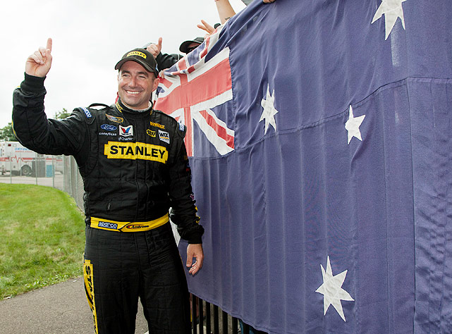 Road course expert Marcos Ambrose became the fifth first-time winner in 2011 when he outlasted the field at a rain-delayed race at Watkins Glen.