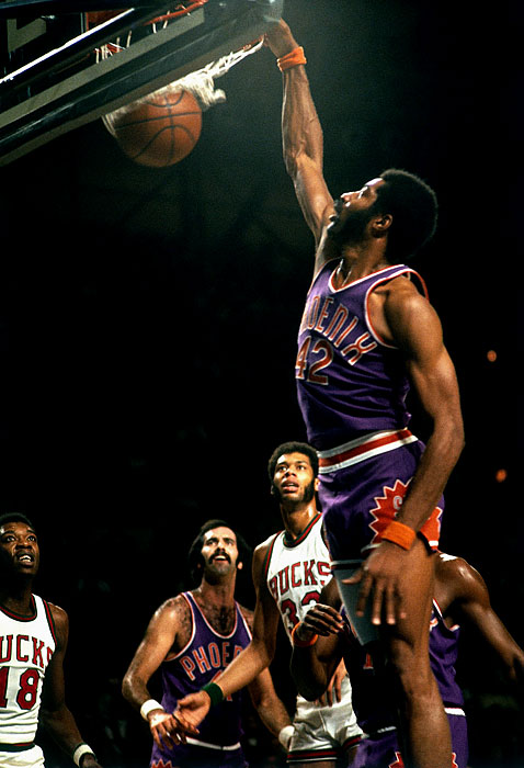 """Born in the Bedford-Stuyvesant neighborhood of Brooklyn, """"Hawk"""" was a Rucker regular and widely regarded as one of the best high school athletes ever. He led Boys High School in New York to two PSAL titles and once scored 60 points in a game. As former NBA coach Larry Brown once said of Hawkins: """"He was Julius before Julius. He was Elgin before Elgin. He was Michael before Michael. He was simply the greatest individual player I have ever seen."""""""