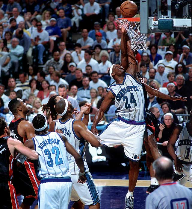 The Bronx native joined the ranks of many pros to pass through Rucker. After a successful career at the University of Kentucky, Mashburn was selected fourth in the 1993 draft and spent 11 seasons in the NBA before retiring in 2004. He averaged 19.1 points as a pro.