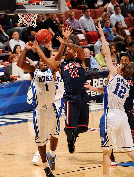 "Lamont ""MoMo"" Jones sliced and diced his way to 16 points to kick defending champion Duke out of the tournament."
