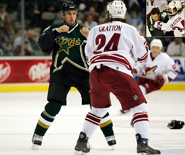 The pugnacious, undersized winger played 13 seasons in the NHL with seven teams and was beloved for his scrappiness and willingness to drop the gloves. While playing for the Dallas Stars in January 2007, Barnaby was concussed during a fight with Josh Gratton of the Phoenix Coyotes and missed the rest of the season. Effects, including temporary loss of vision in his left eye, led him to retire in July of that year.