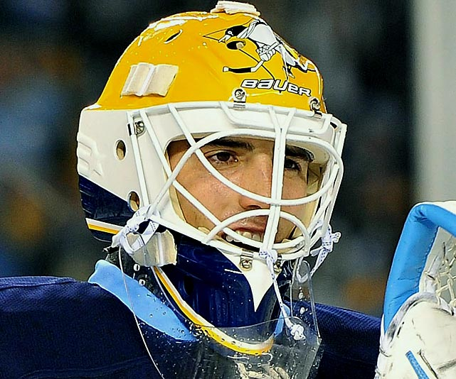 For the 2011 Winter Classic, Fleury donned a mask in tribute to Michel Dion, who was the only Penguins goalie to have played in an NHL All-Star Game (1982) until Fleury was selected just three days after the Classic.