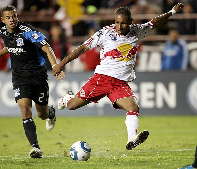 "Entering the 2010 season, Agudelo was one of those ""at least a couple of years away"" prospects oozing with potential. A year later, he's U.S. Soccer's Next Big Thing. After displaying his technical skill in the postseason and with the U.S. national team in friendlies against South Africa and Chile, Agudelo has seen the bar raised at an exponential rate. While the hype machine probably needs to be turned down a notch or two, the fact remains that he'll be starting alongside Thierry Henry in what should be one of the league's more fierce attacks."