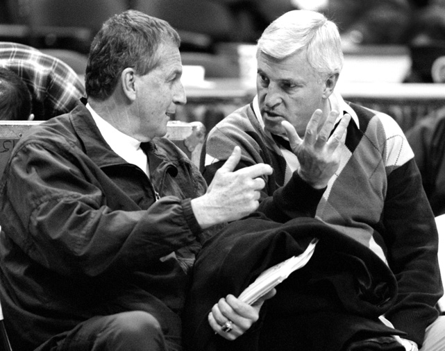 Calhoun currently ranks sixth all time among men's Division I coaches with 873 career coaching victories while Bobby Knight is second with 902.