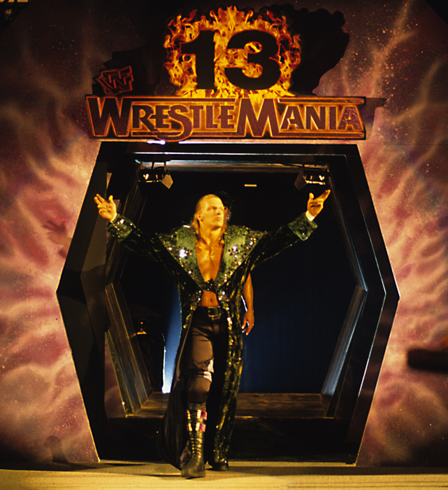Hunter Hearst Helmsley (aka - Triple H) won his first WrestleMania match in 1997, when he defeated Goldust.