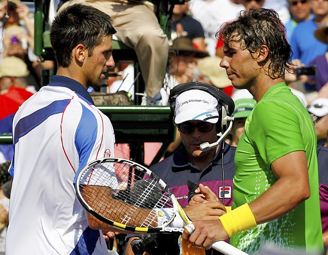 On March 23, more than a dozen of the world's best tennis players, including Rafael Nadal and Novak Djokovic, took part in the Hope Match for Japan, a charity exhibition benefiting victims of the earthquake and tsunami.