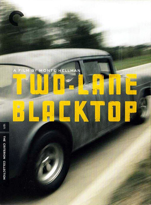 "A road movie and a period piece from the early 1970s, the critically acclaimed film co-starred James Taylor and the Beach Boys' drummer street racing along old Route 66. There's ""The Driver,"" ""The Mechanic"", ""GTO,"" The Girl,"" and the real star -- it has almost as much dialogue -- the 1955 Chevy 150. Then again, with lines like, ""What are you trying to do, blow my mind?,"" perhaps it's best to let the Chevy do the talking. Hippies."