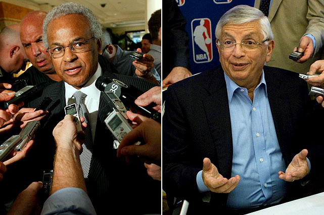 The NBA locked out its players July 1 when its collective bargaining agreement expired, and on Oct. 10 cancelled the first two weeks of the regular season because of the labor impasse. The two sides, led by Union chief Billy Hunter and Commissioner David Stern, remained far apart on just about every major issue, from salaries to the salary cap, revenues to revenue sharing. They eventually settled their differences in late November, agreeing to a 66-game schedule, with the first games set for Christmas Day.