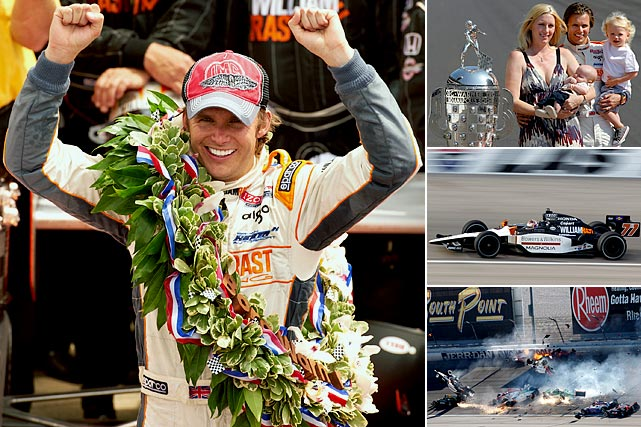 The two-time and reigning Indy 500 Champion was part of a 15-car crash on the 11th lap of the Las Vegas Indy 300. He sustained unsurvivable injuries and left behind a wife and two children.