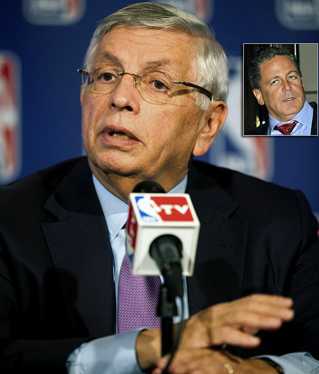 The Rockets, Hornets and Lakers agreed to a three-team deal that would have put CP3 in a Lakers uniform, sent Pau Gasol to Houston and given the Hornets four players and a first-round pick, but NBA commissioner David Stern created a firestorm by nixing the trade because small market owners like Cleveland's Dan Gilbert (inset) felt the trade was lopsided and benefitted the Lakers too much.