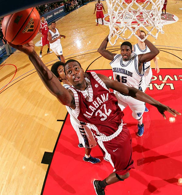 The Crimson Tide started 4-5 and Green missed three games after a run-in with coach Anthony Grant. After Green's return, the team ripped off 20 wins in its final 26 games and reached the NIT final. With Green's 15.5 points per game back, Alabama will be dreaming of an NCAA tournament run next spring.