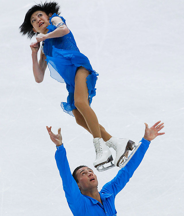 Kavaguti (born and raised in Japan) and Smirnov represent the best Russia has to offer, no better than the No. 3 pairs team in the world. They finished fourth at the 2010 Olympics, the first time a Russian pair didn't win gold, let alone medal, since the 1960 Games.