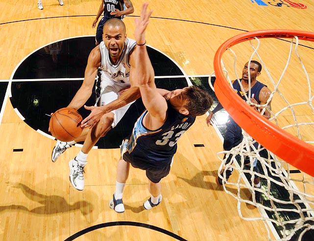 Tony Parker's ability to drive and dish propelled the San Antonio Spurs to a 93-87 win over the Memphis Grizzlies in Game 2 of the Western Conference quarterfinals.