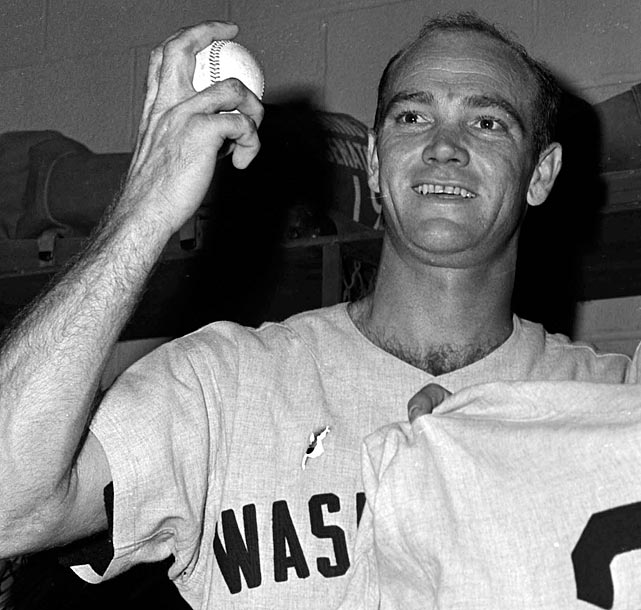 The journeyman's performance was more a feat of endurance than one of domination. He needed 16 innings to reach the record mark with the Washington Senators in 1962. Cheney had 13 K's through nine innings and ended up tossing 228 pitches in the game. Roger Clemens set the record for strikeouts in a nine-inning game with 20 in 1986, a performance he repeated in 1996. It has since matched by Kerry Wood in 1998 and Randy Johnson in 2001.