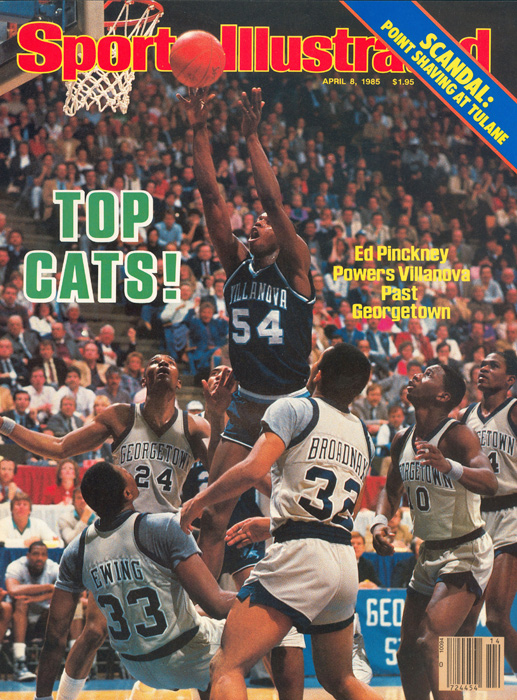 The first champ of the 64 (and more) team era remains its most unlikely as the 8th-seeded Wildcats won the crown, disposing of two 1-seeds and two 2-seeds along the way. They lost at St. John's in the Big East semifinal, which is very understandable as the then-Redmen were the BET's top seed, were a 1-seed in the NCAAs and also made the Final Four. Four of Nova's NCAA wins were by four points or fewer.