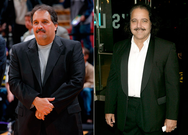 Stan Van Gundy : Orlando Magic coach  Ron Jeremy : Porn star