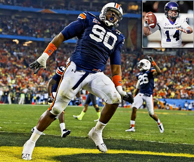 Will Pick:   Nick Fairley , DT, Auburn   Should Pick:   Andy Dalton , QB, TCU   Tennessee was rarely as toothless defensively under Jeff Fisher as it was in his last season, and the lack of interior pressure from the line was a big part of that. Fairley doesn't come without risk, however. He was a one-year wonder at Auburn, and there are questions about how dedicated he'll be. This is too high for Dalton, of course -- unless you think he's got a good chance to be the best QB in this draft. Which I do.