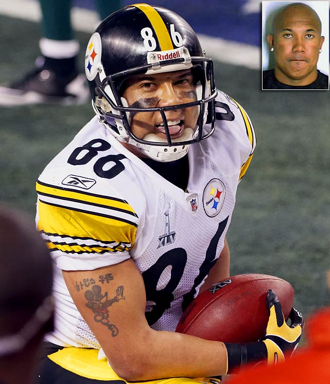 The star Steelers wide receiver was arrested in Atlanta after allegedly driving under the influence. Ward claimed he had had only two drinks, but he failed a field sobriety test and refused to take a Breathalyzer.