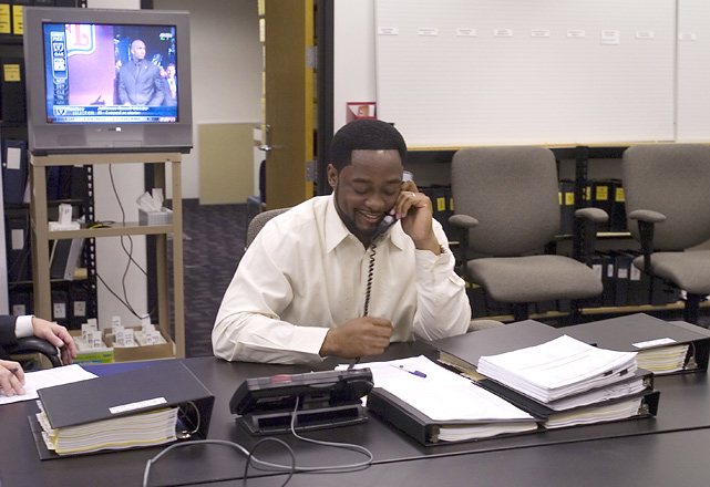 Pittsburgh Steelers head coach Mike Tomlin during Draft Day at the South Side Sports Complex.