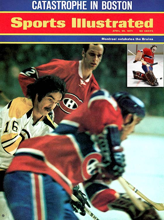 Down 5-1 in Game 2 of the quarterfinals, the Canadiens scored six straight goals to turn a huge deficit into a momentum-building 7-5 victory and eventually upset heavy favorite Boston in seven games. Rookie goalie Ken Dryden made several crucial saves in Game 2 -- and throughout the series -- as Montreal unleashed its offensive onslaught. The series is remembered partly because of Dryden's emergence.