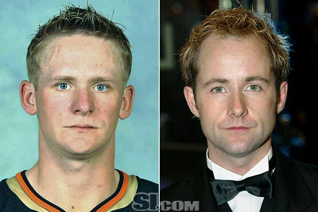 Corey Perry  - Anaheim Ducks right wing  Billy Boyd  - actor,  The Lord of the Rings  films