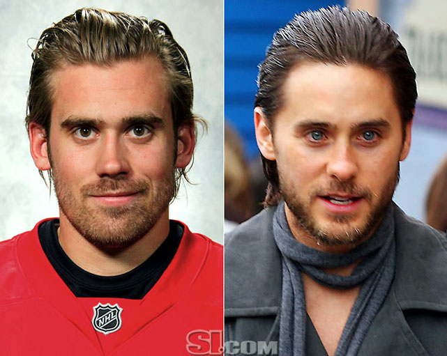 Henrik Zetterberg  - Detroit Red Wings left wing  Jared Leto  - actor,  Requiem for a Dream