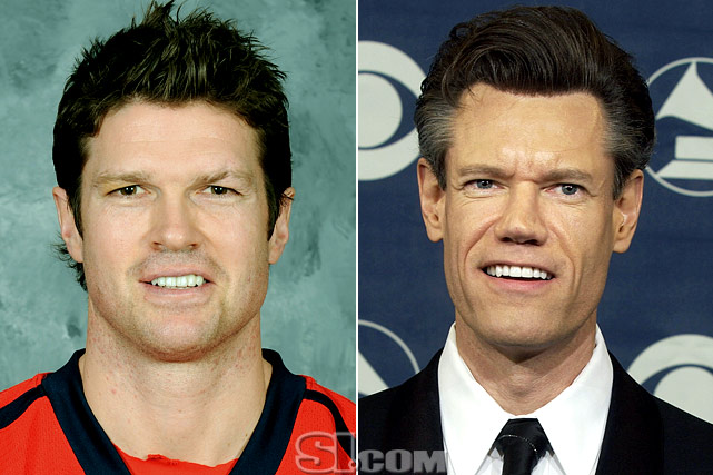 Jason Arnott  - Washington Capitals center  Randy Travis  - musician