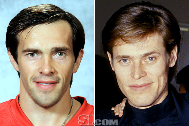Pavel Datsyuk  - Detroit Red Wings center  Willem Dafoe  - actor,  Spiderman