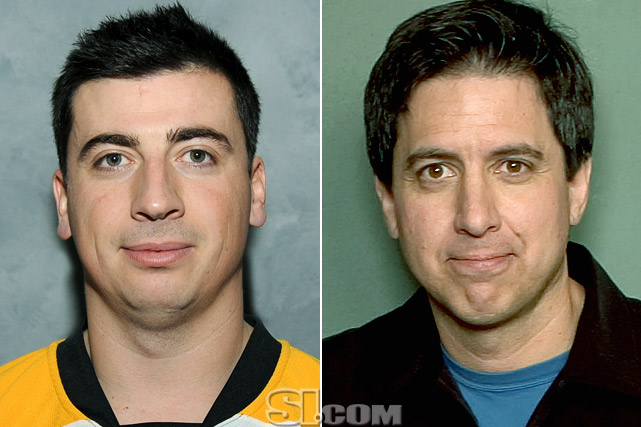 "Tomas Kaberle  - Boston Bruins defenseman  Ray Romano  - comedian/actor,  ""Everybody Loves Raymond"""