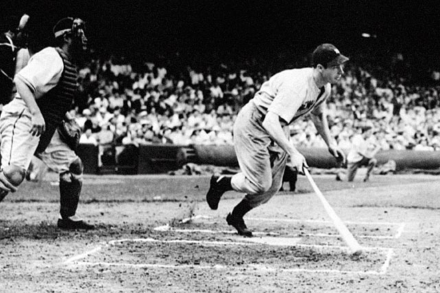 There were good games and bad games, wins and losses, multi-hit outings and near misses, but starting May 15, 1941, one thing stayed constant for the next two months: Joltin' Joe hit. Joe DiMaggio topped the previous record of 41 straight games with a hit on June 29 and pushed his record to an unmatched 56 games before the streak ended on July 17 with an 0-for-3 night against Cleveland.