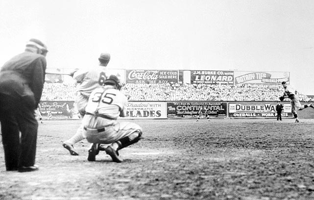 Johnny Vander Meer's unmatched feat wasn't a lockdown effort. The wild lefty walked eight batters in the second no-hitter (on June 15, 1938) and nearly lost the shutout in the ninth inning, when he walked the bases full. But Leo Durocher caught a pop up to preserve the then rookie's streak. Vander Meer would finish with a career 119-121 record