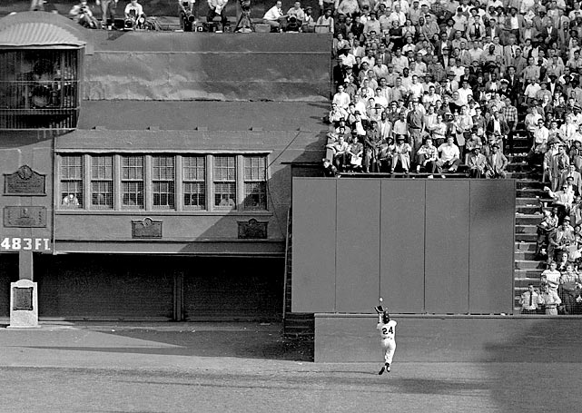 Running full speed, his back to home plate, Giants center fielder Willie Mays reached up and pulled the ball in over his shoulder. The catch is famous for its startling display of athleticism. But it was also a turning point in the 1954 World Series. The Indians were heavy favorites to win, but after Mays hauled in the deep fly ball during Game 1, Cleveland never looked the same. New York swept the series.