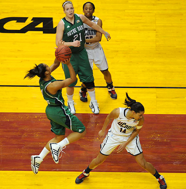 With UConn and Stanford falling in the semis, Notre Dame's Skylar Diggins emerges as the go-to star for Tuesday night's finale.