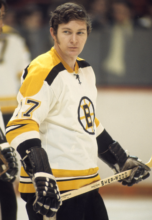 The Bruins won a pair of Stanley Cups during Stanfield's six years with the team. The center/wing provided consistent offensive production, including a three-year span when he scored 76, 79 and 78 points, respectively.