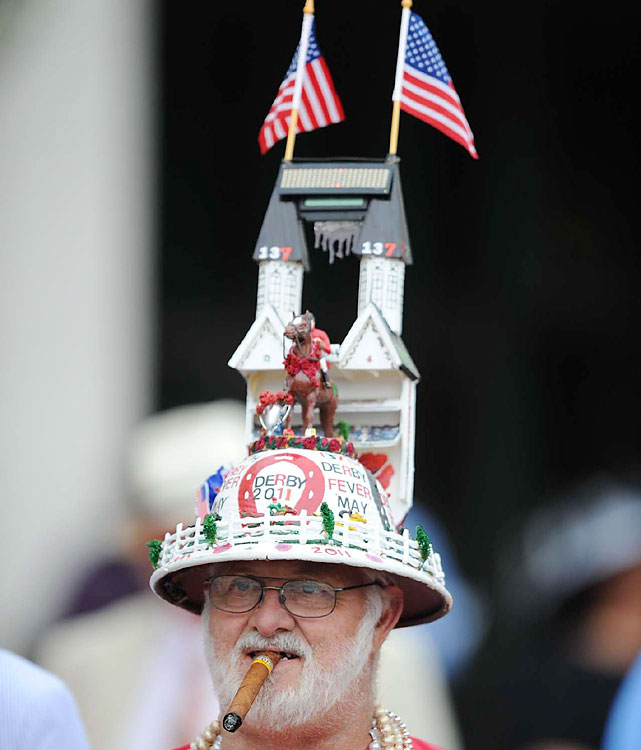 This hat had a little bit of everything, including patriotism.