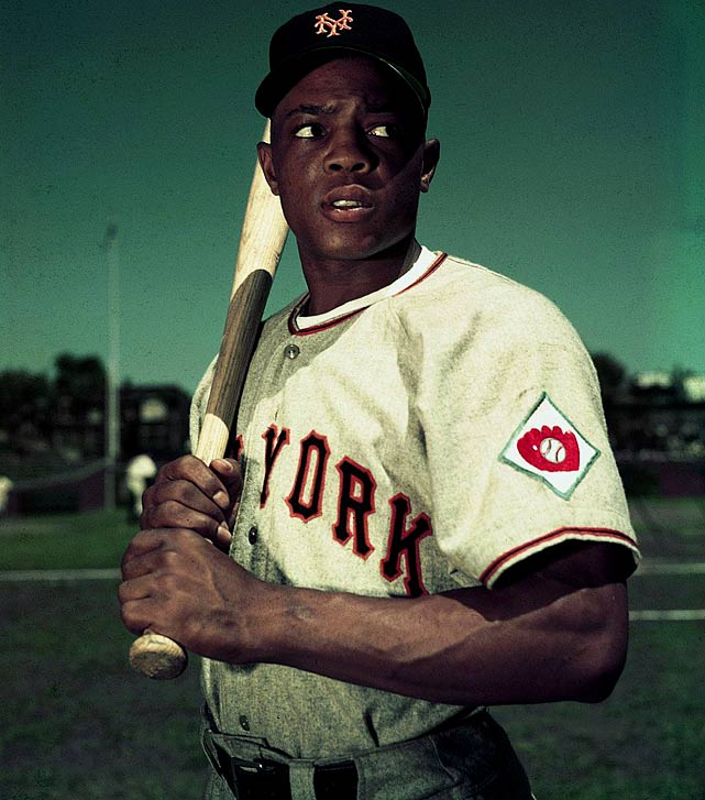 After going hitless in his first three games, Willie Mays connected on his first major league home run. Mays went on to hit 659 more, which ranks fourth on the career home run list.