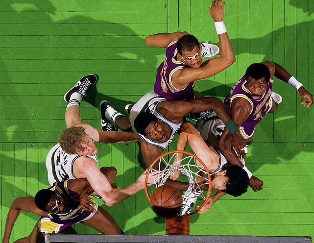 <italics>The last Monday in May is anything but a sleepy day on the national sports calendar. Here are some noteworthy Memorial Day moments, some more memorable than others. </italics> Game 1 of the NBA Finals was dubbed the Memorial Day Massacre after the Celtics destroyed the Lakers 148-114. In the 34-point victory, Boston set a record for points in a half (79) and a game. But the blowout didn't slow the Lakers, who won the series in six games.