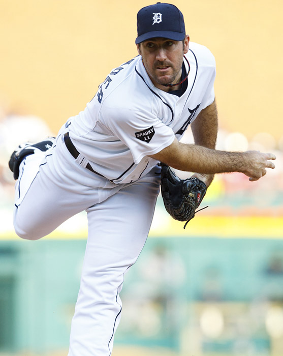 Verlander, who no-hit the Blue Jays on May 7, recorded his second two-hitter of the season in a 4-0 win over the Indians. Verlander's bid went into the eighth inning before Orlando Cabrera lined a clean single to center with one out.