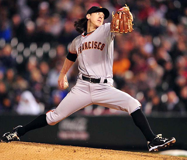 The two-time Cy Young Award winner was spotted an eight-run lead against the Rockies, and he cruised until a single by Carlos Gonzalez in the seventh broke up his no-hit bid. Lincecum struck out 10 in 7 2/3 innings of work and allowed only four balls to leave the infield all night, none until a seventh-inning flyout.