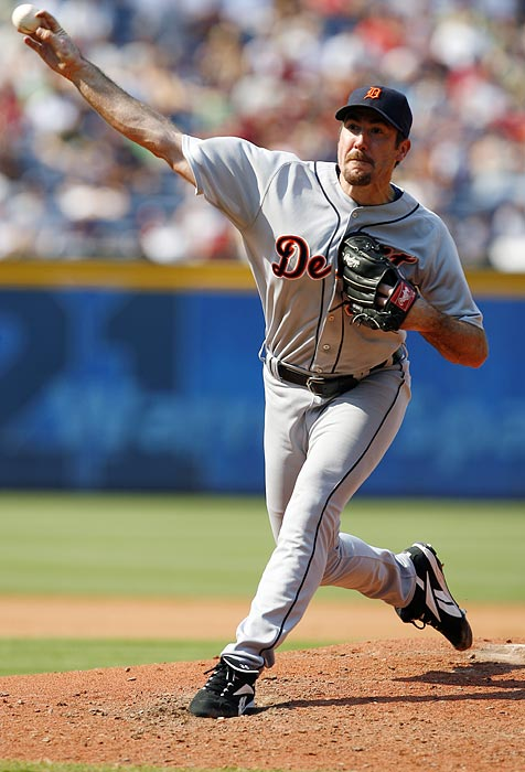 Verlander was steady in his next performance, withstanding seven hits from the Phillies and allowing only three runs in six innings on the mound.