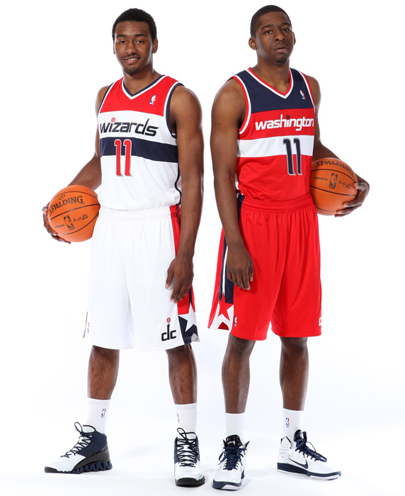 "Earlier this month, the Wizards unveiled their new uniforms to rave reviews. Owner Ted Leonsis said the new look ""pays homage to the past and what you liked most about the traditional look and feel and still give the uniforms a modern twist."" In honor of the Wiz's bold new look, here is a look back at the best uniforms in NBA history:"