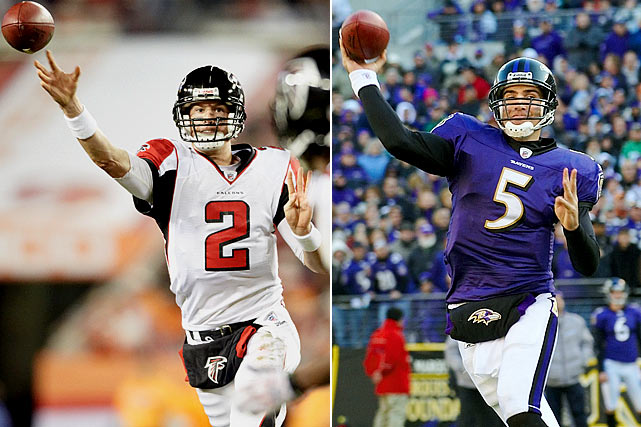 #3: Matt Ryan (Boston College), Atlanta Falcons #18: Joe Flacco (Delaware), Baltimore Ravens