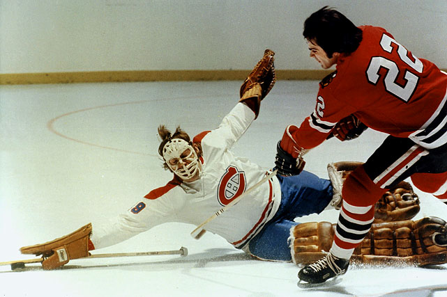 The Hall of Famer began his career in legendary style. After spending nearly the entire 1970-71 season in the AHL, Dryden saw action in six regular season games for the Canadiens, winning all six with a stingy 1.65 goals-against average. In a shocking move, the team tabbed him as its playoff starter instead of veteran incumbent Rogie Vachon, and Dryden played spectacularly while eliminating Bobby Orr's defending Stanley Cup champion Bruins in the first round, four games to three. When the Habs went on to win the Cup, Dryden (12-8, 3.00 GAA) was awarded the Conn Smythe Trophy. The following season, he won the Calder Trophy as rookie of the year.