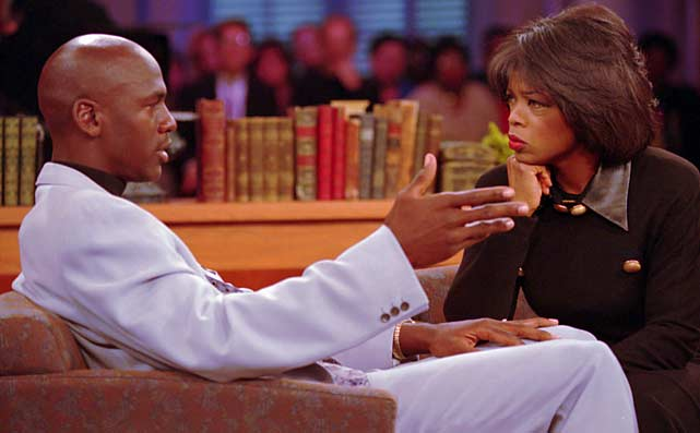 After 25 years on the air, Oprah Winfrey has said goodbye to her long-running talk show. SI.com looks back at some of her interviews with athletes, beginning with a 1994 visit by Michael Jordan.