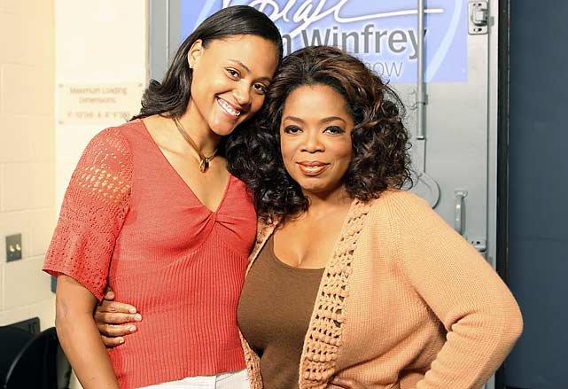 In her first post-prison interview, track star Marion Jones spoke to Oprah about her decision to lie to federal prosecutors asking about her use of performance-enhancing drugs. On the show, Jones tearfully read a letter she wrote to her her two young sons while in prison.